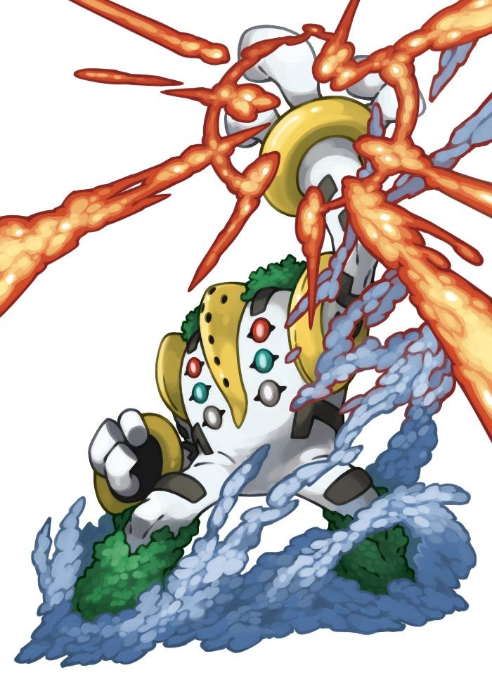 Pokemon 493 483~488